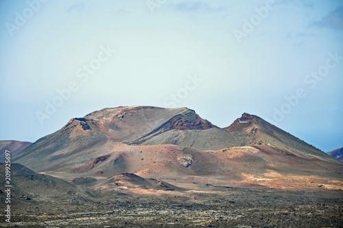 Lanzarote, wulkany