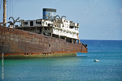 Aluminium Schipbreuk Lanzarote, Schiffswrack