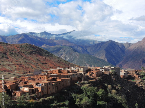 Foto Murales Morocco Atlas Mountains