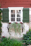 Window with Flower box in Europe - 209930046