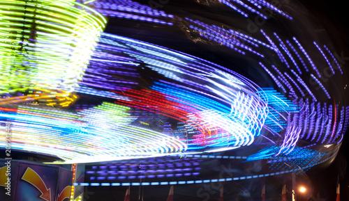 Fotobehang Amusementspark carnival ride