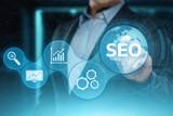 SEO Search Engine Optimization Marketing Ranking Traffic Website Internet Business Technology Concept - 209933247