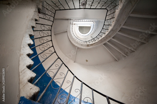 Old entrance stairs