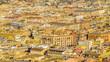 Rome Aerial View at Saint Peter Basilica Viewpoint