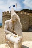 Dädalus-Statue in Agia Galini auf Kreta - 209935405
