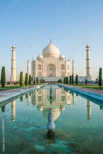 Leinwanddruck Bild Taj Mahal Indien