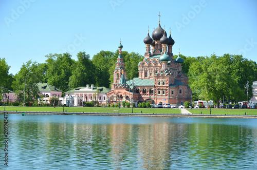 Trójcy kościół w Ostankino, Moskwa, Rosja