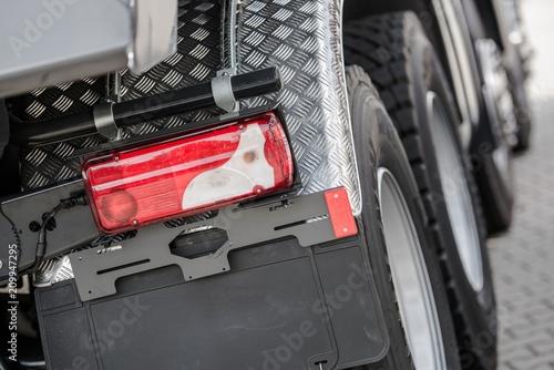 Fototapeta Heavy Duty Truck Closeup