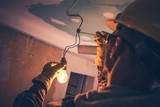 Working Contractor Electrician