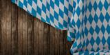 bavaria flag wooden board 3d rendering - 209955435