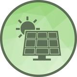 Solar Panel Icon - 209970834