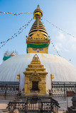 Swayambhunath - monkey temple in Nepal - 209972672