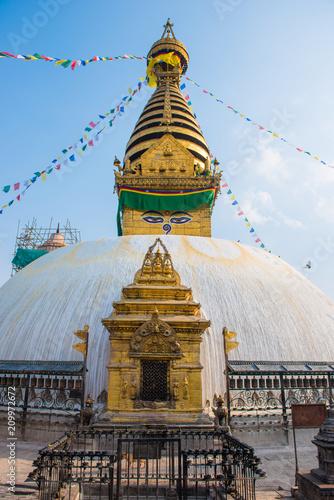 Fotobehang Aap Swayambhunath - monkey temple in Nepal