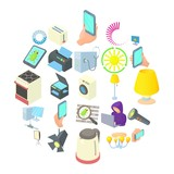 Lantern icons set. Cartoon set of 25 lantern vector icons for web isolated on white background - 209978837