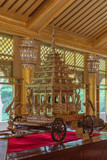 Kambawzathardi Golden Palace in Bago, Myanmar - 209980015