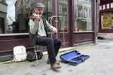 Artiste de rue violoniste - 209985660