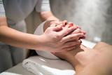 Rejuvenating relaxing massage by masseur - 209988899