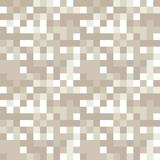 Squares mosaic geometric vector seamless pattern. - 209992851