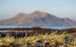 Leinwanddruck Bild - Berg Mweelrea bei Connemara in Donegal County