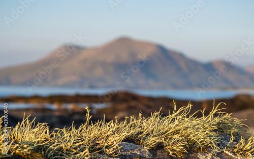 Leinwanddruck Bild Berg Mweelrea bei Connemara in Donegal County