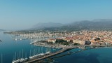 Aerial view of Lefkas harbour - 210010092