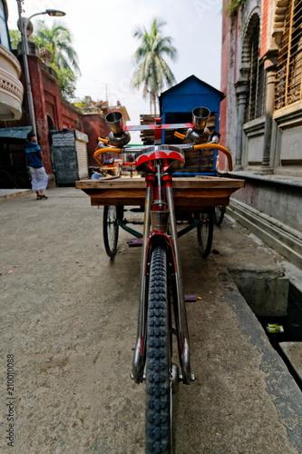 Plexiglas Fiets rickshaw