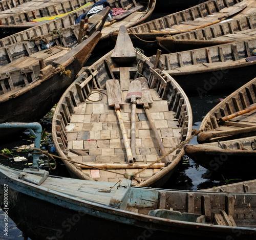 Fotobehang Schip bateau