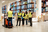 Training on a forklift - 210019224