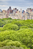 Central Park and Manhattan Upper East Side, New York City, USA.