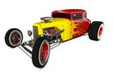 Hot Rod 3D render - 210019443