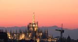 Duomo di Milano di sera illuminato