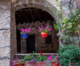 camerata cornello ancient medieval village in Italy - 210024693