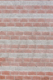 Big brick wall texture background exterior - 210028426