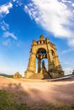 Kaiser Wilhelm Monument, Porta Westfalica, Germany - 210033633