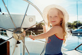 The children on board of sea yacht - 210041045