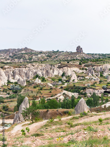 Foto Murales rural scenic in Goreme National Park
