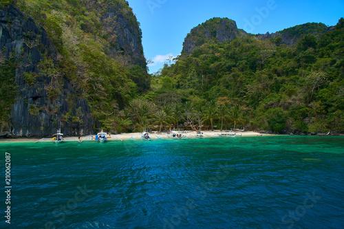 Aluminium Tropical strand El Nido Island Hopping Palawan Philippines