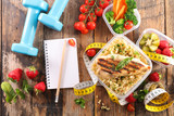 diet food concept - 210110840