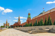 The main sights of Moscow Kremlin Red Square