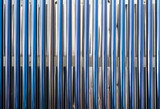 Closeup on solar water heater tubes  - 210136092