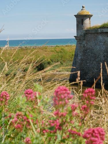 Plexiglas Vuurtoren la hougue, normandie, cotentin
