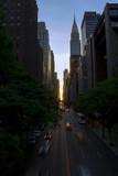 42nd St. Sunset