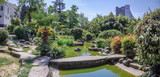 SOCHI, RUSSIA - MAY 4, 2018: Pond in Garden of Russian-Japanese Friendship. - 210169420