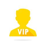 VIP person icon vector - 210178291