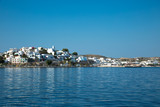 VIew of adamantas village from the sea - 210204446