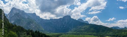 Wszystkie Gebirge Panorama