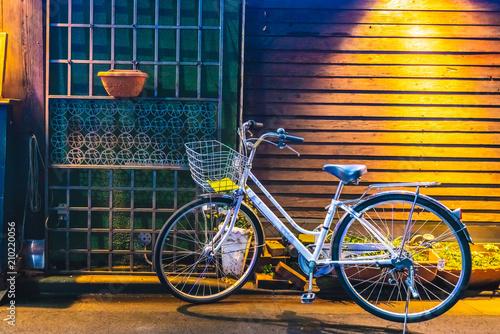 Plexiglas Fiets Vintage Bicycle Parking