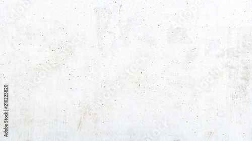 Leinwanddruck Bild Texture of old white concrete wall for background