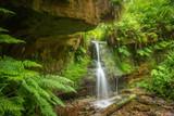 Waterfall in Maspie Den Falkland Fife