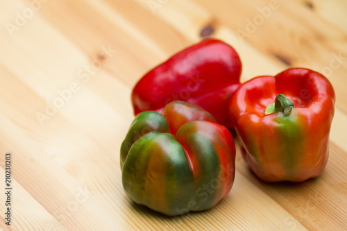 Red bell peppers - 210238283